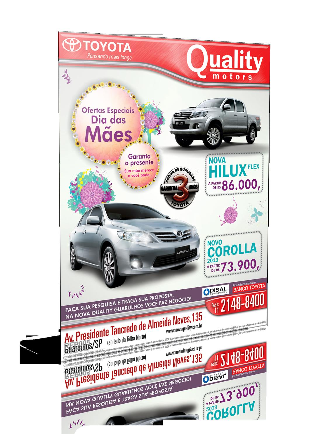 Quality – Anúncio Dia das Mães