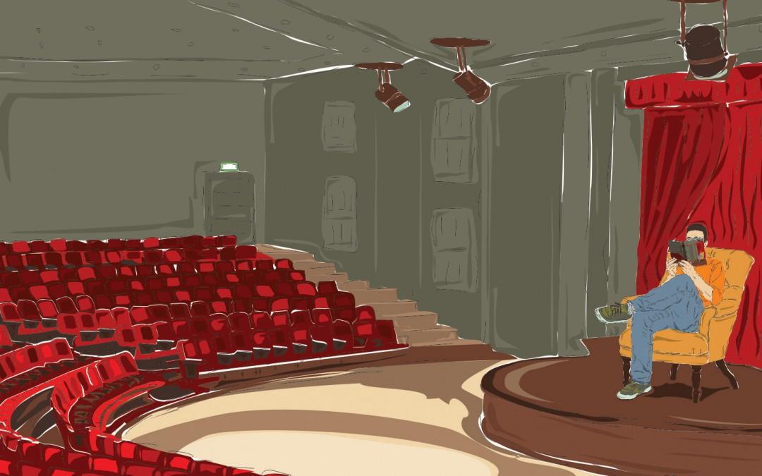 Ilustrações para o Livro de Artes Cênicas da Série Valores do SESI